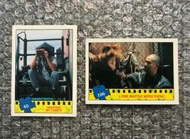 1990 Topps Teenage Mutant Ninja Turtles TMNT Movie Trading Cards Lot: #65 & #106 - $3.13