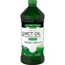 100% Pure MCT Oil, Medium Chain Triglycerides, Unflavored 16 Fl Oz - $9.89