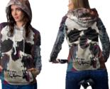Skull vintage artwork hoodie zipper for women thumb155 crop