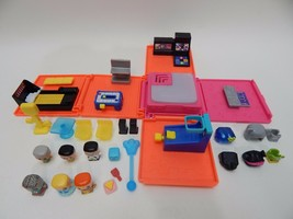 My Mini Mixie Q's Neon Arcade Deluxe Playset Lot of Figures ULTRA RARE Z... - $49.49