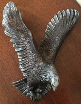 "12"" ceramic eagle wall hanger - $17.50"