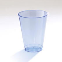 Clear Ware 7 oz Blue Plastic Tumblers/Set of 500 - $100.40