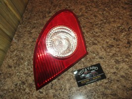 09-10 TOYOTA COROLLA DRIVER LEFT TRUNK TAIL LIGHT YOTA YARD - $62.37