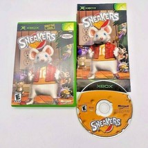 Sneakers (Microsoft Xbox, 2002) Mouse Game Complete w/ Manual CIB - $11.83