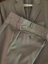 Ralph Lauren Mens 100% Wool Suit 44 Lord & Taylor Olive image 3