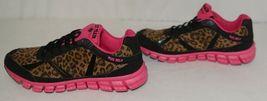 Crazy Train RUNWILD14 Black Pink Cheetah Sneakers Size 9 image 5