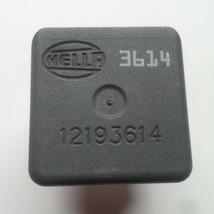 Gm Hella Oem Relay 12193614 1 Year Warranty Tested Free Shipping GM2 - $6.95