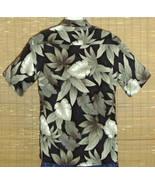 CAMPIA MODA Hawaiian Shirt Black Green Medium - $19.95