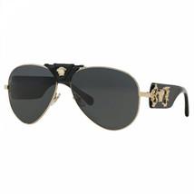 New Authentic Versace VE2150Q - Gold/Dark Grey - $165.62