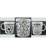 Taylor & Ng Le Chien Tigre Coffee Mug 1978 San Francisco Cobalt Japan Ti... - $20.52
