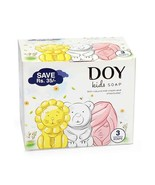 Doy Soap Assorted Pack Of 3 Multi Color - 75 gm Each - $12.99