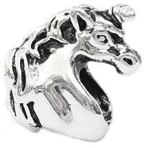 Unicorn European Bead Pandora Style Chamilia Troll Biagi - $4.83