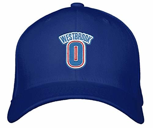 Russell Westbrook No.0 Hat - Adjustable Unisex Navy Blue Basketball Cap