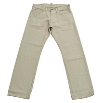 New Polo Ralph Lauren Classic Fit 867 Fine Denim Jeans Bone 32x34 - $65.33