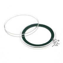 Air-Tite 38mm Green Velour Ring Coin Capsule Holders, 10 Pack - $12.95