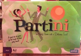 PARTINI Adult Party Crowd Mixer Game Delicious Twist High-Spirited Sealed - $16.82