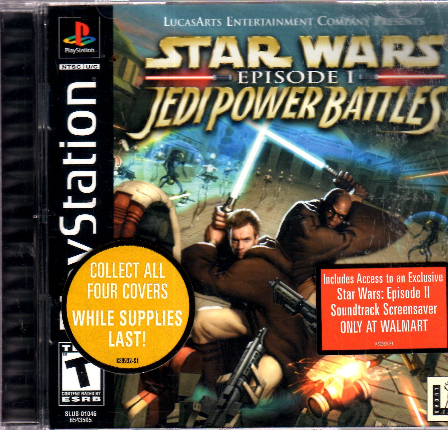 PlayStation - Star Wars Episode I Jedi Power Battles