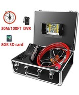 Pipeline Endoscope,Aukfa Pipe Inspection Camera Video System IP68 Waterp... - $543.62