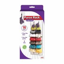 Cartera Rack 1 Pack 16 Ganchos Sobre La Puerta Organizador De Closet Par... - $14.84