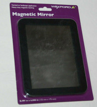 Wexford Magnetic Mirror School Locker 5 In X 7 In Black NEW - $8.74