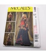 McCalls M6911 Pattern Punk Steampunk Edwardian Dress Costume Sz 14 to 22... - $12.99