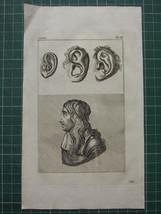 1797 LAVATER PHYSIOGNAMY 20 PLATES Vol 4 NOSES FACIAL PROFILES MOUTHS - $80.04