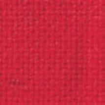 CHRISTMAS RED AIDA 16 Ct. 18 x 25   + NEEDLE/THREADER - $9.89