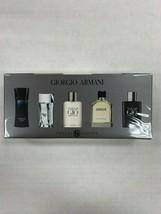 Armani Cologne Mens Variety Mini Gift Box Set Acqua Di Gio Profumo Code Diamonds - $54.99