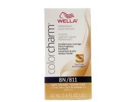 Wella Color Charm 8N/811 Light Blonde Permanent Liquid Hair Color Value Packs (2 - $12.99