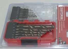 Craftsman CMAM22174 Gold Oxide Drill Bit Set 14 Pieces Storage Case Included image 6