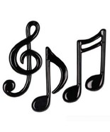 Musical Notes Wall Decoration Pack of 3 - Gifts for Musicians - $10.95