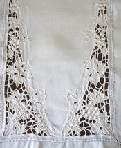 Fine Vintage MADEIRA Cutwork Raised Embroidery Set Coasters Runner Place... - $325.00