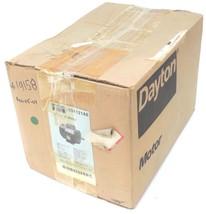 NIB DAYTON 5K121AE INDUSTRIAL MOTOR 1/3 HP, 1725RPM, 115/230V, 6.6/3.3 AMP