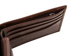 Tommy Hilfiger Men's Logan Bifold Zipper Coin Credit Card ID Wallet 31TL220036 image 4