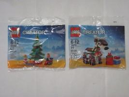 LEGO 30286 Christmas Tree & 30474 Christmas Reindeer polybags, new, FREE... - $29.99