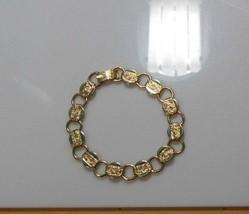 Vintage Sarah Coventry Gold-tone Link Bracelet  - $14.84