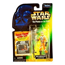 Star Wars, The Power of the Force Freeze Frame, Biggs Darklighter Action... - $1.86