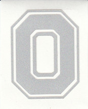 REFLECTIVE Ohio State Buckeyes Block O 5 inch decal sticker window RTIC - $5.93