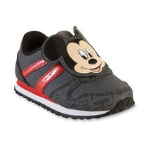 NEW Baby or Toddler Boys Mickey Mouse Sneakers Size 8 9 10 11 or 12 - $24.99
