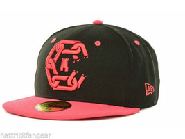 NEW ERA 59FIFTY CROOKS & CASTLES CHAINS LOGO FITTED CAP/HAT - 7 1/2 - BL... - £17.06 GBP