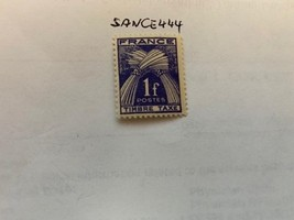 France Postage due Timbre taxe 1f mnh 1947  stamps - $1.20