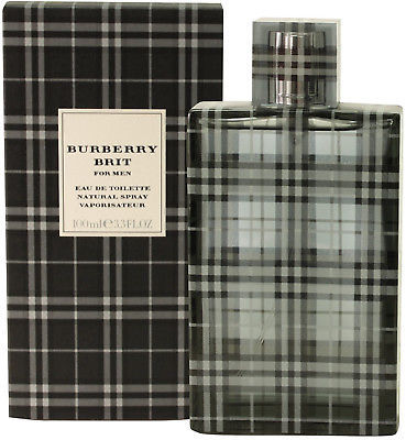 Primary image for Burberry Brit Men's 3.4-ounce Eau De Toilette Spray