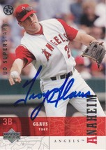 Troy Glaus Signed Autographed 2003 Upper Deck Baseball Card - Anaheim An... - $9.99