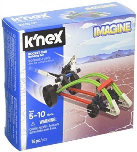 K'NEX - Rocket Car Building Set 74 Pieces Ages 5+ Construction Education Toy NEW