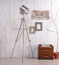Nauticalmart Beautiful Silver Finish Metal Tripod Floor Lamp - $244.02