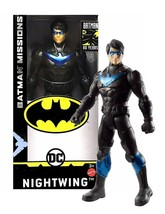 "DC Comics Batman Missions Nightwing 6"" Action Figure New in Box - $10.88"
