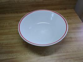 corelle serving bowl red stripe - $12.30