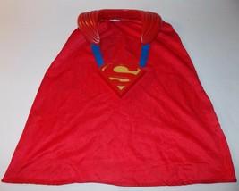 Superman Fight N Fly Cape Sounds Lights DC Comics 2005 Mattel Halloween ... - $14.99