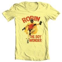 Robin The Boy Wonder T-shirt Bat-Man vintage TV show Burt Ward 100% cotton tee image 2