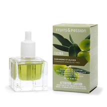 Fruits & Passion Electric Fragrance Diffuser Refill Coriander & Olive Tree - $10.85